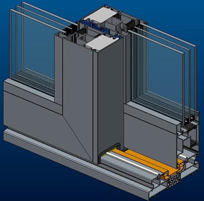 ALT SL160 paceļamo un bīdāmo konstrukciju sistēma