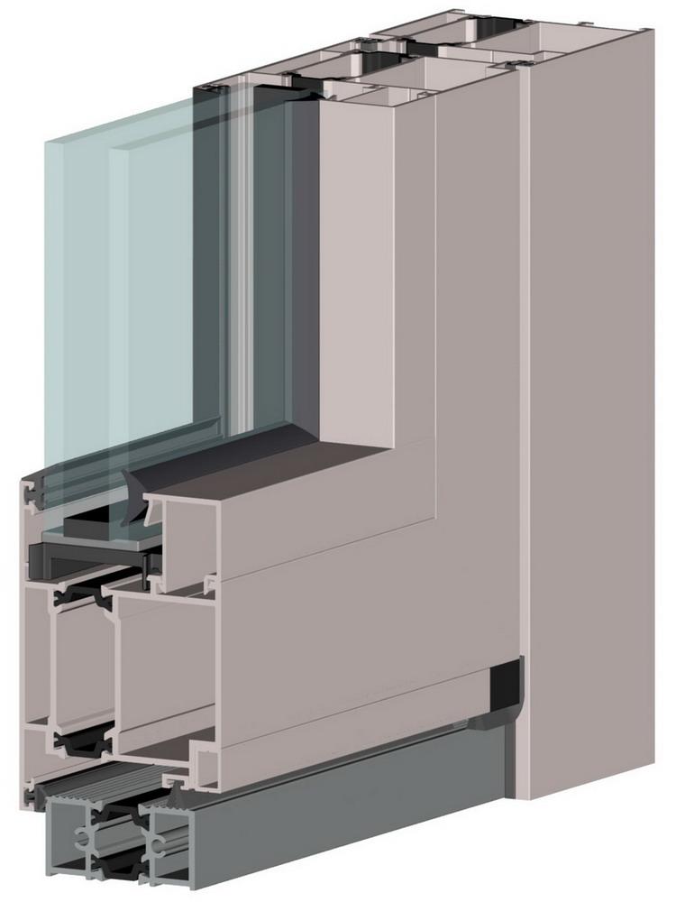 Window system Alutech ALT W72