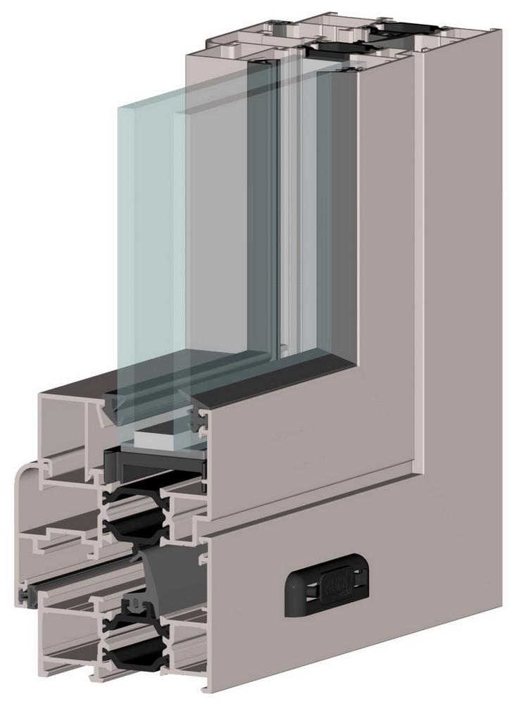 Logu sistēma Alutech ALT W62