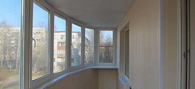 Balkonu un lodžiju apdare