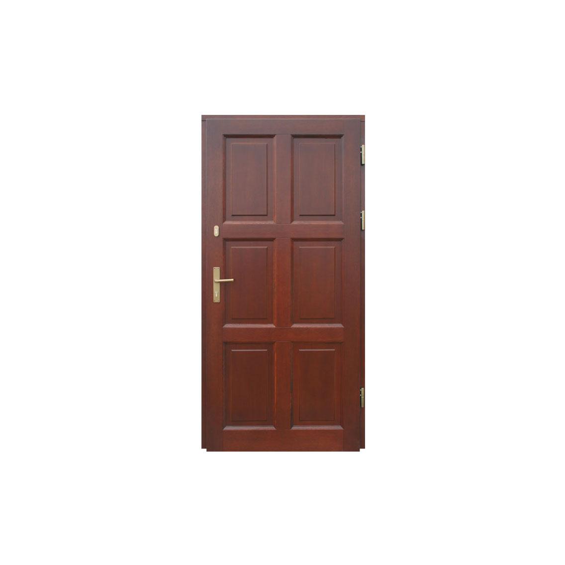 Деревянная дверь WD-12