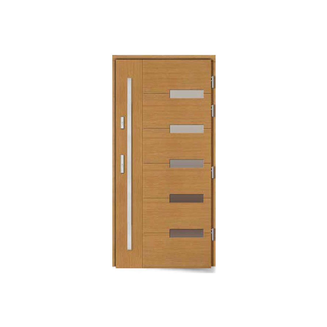 Koka durvis WD-7