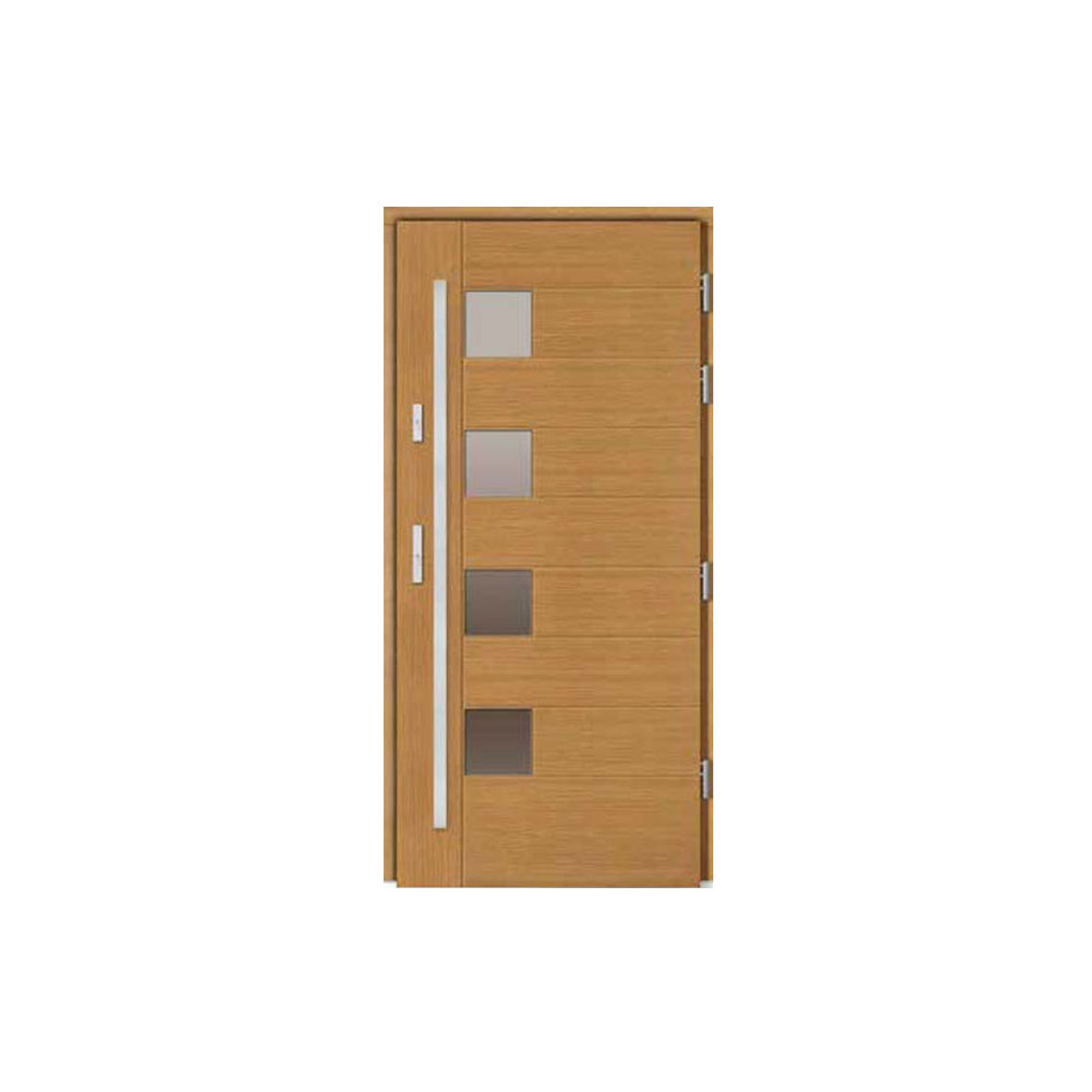 Деревянная дверь WD-9