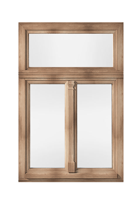Historical wooden windows